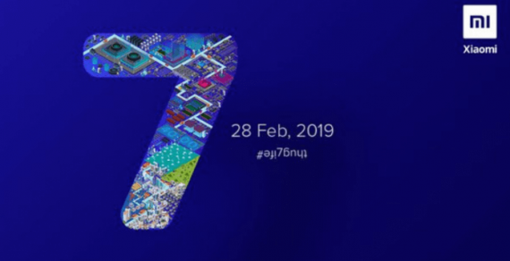 Launch Date Of Redmi Note 7   is February 28 In India